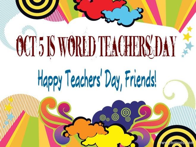 Happy Teachers' Day!