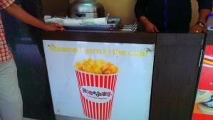 The Kiosk serving Corn