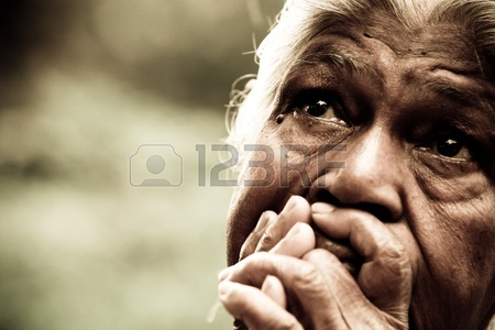 10434875-poor-indian-woman
